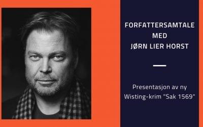 Forfattersamtale med Jørn Lier Horst
