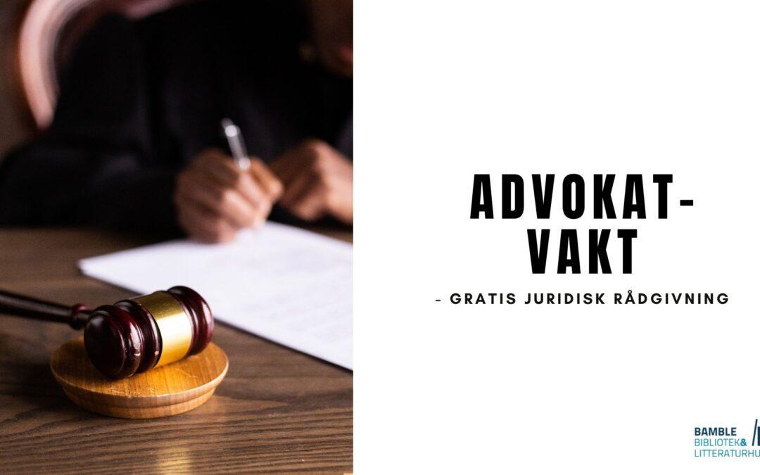 Advokatvakten høsten 2021